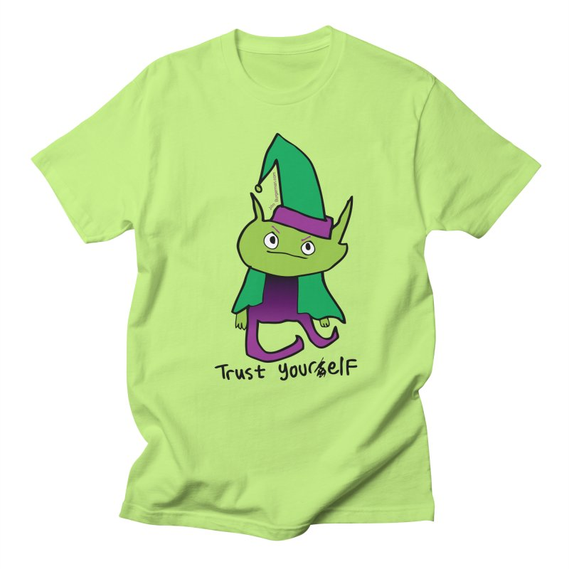 Trust Your elf Men's T-shirt by Jon Burgerman's Artist Shop