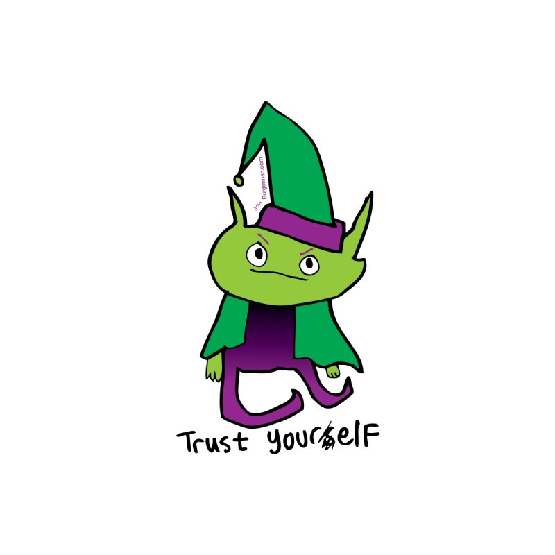Trust Your elf by Jon Burgerman's Artist Shop