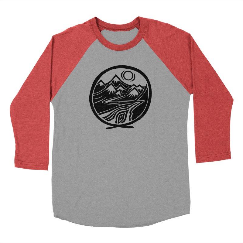 Natural Calming - Black Print Men's Longsleeve T-Shirt by jon cooney's print shop