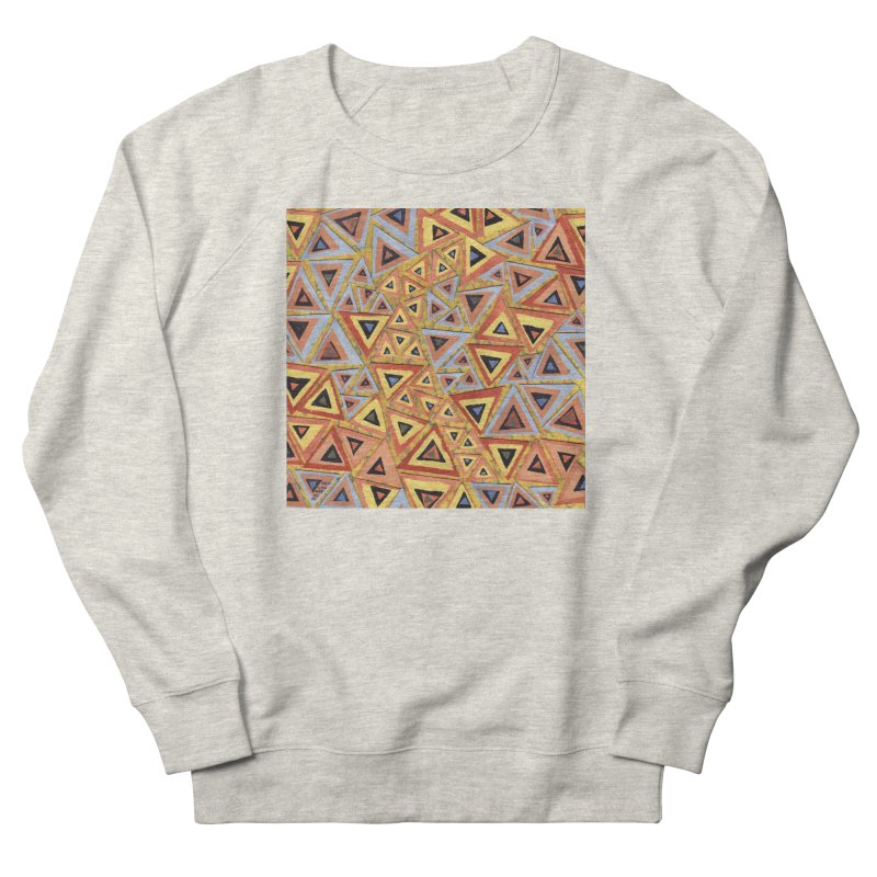 Translating New Perspective Women's French Terry Sweatshirt by jon cooney's print shop