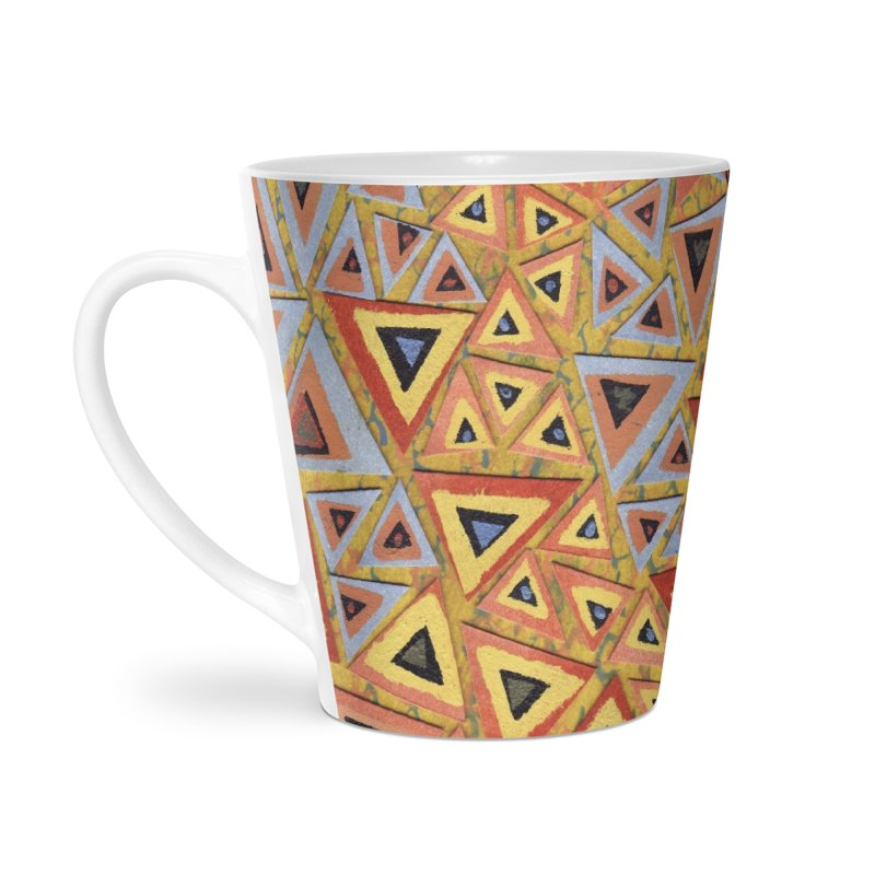 Translating New Perspective Accessories Latte Mug by jon cooney's print shop