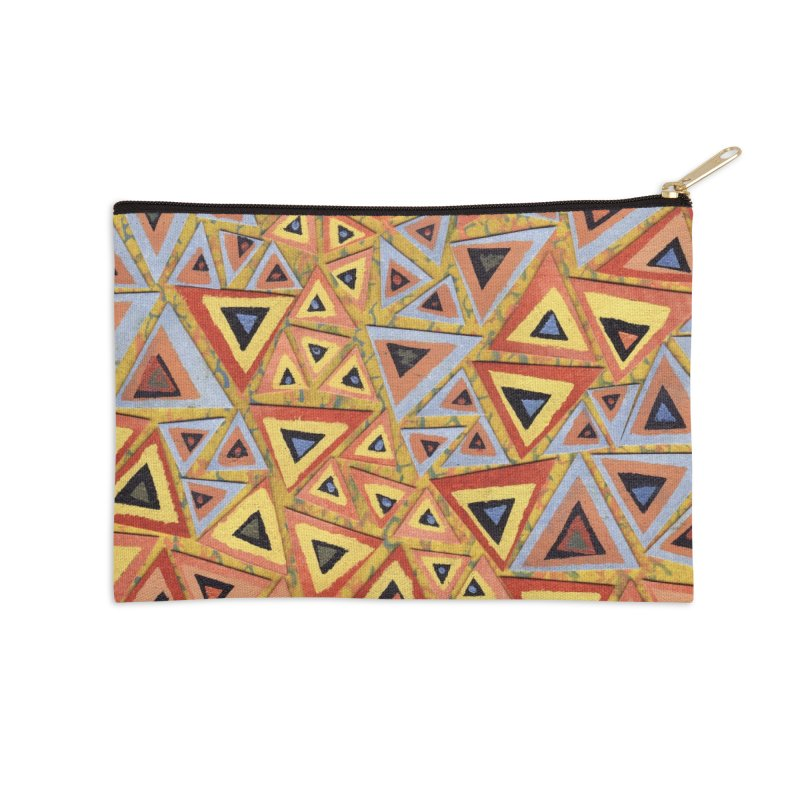 Translating New Perspective Accessories Zip Pouch by jon cooney's print shop