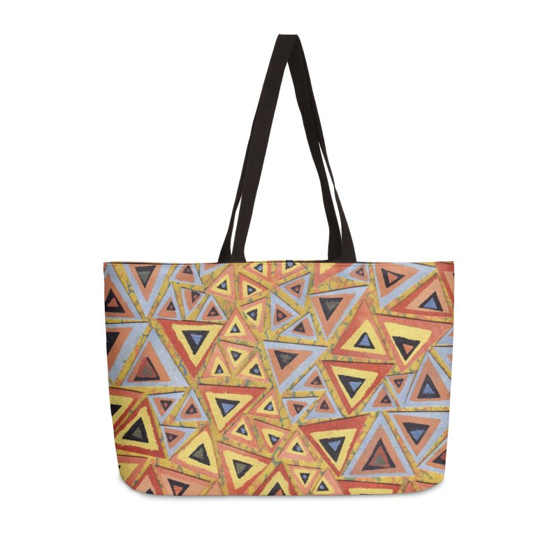 Translating New Perspective Accessories Weekender Bag Bag by jon cooney's print shop