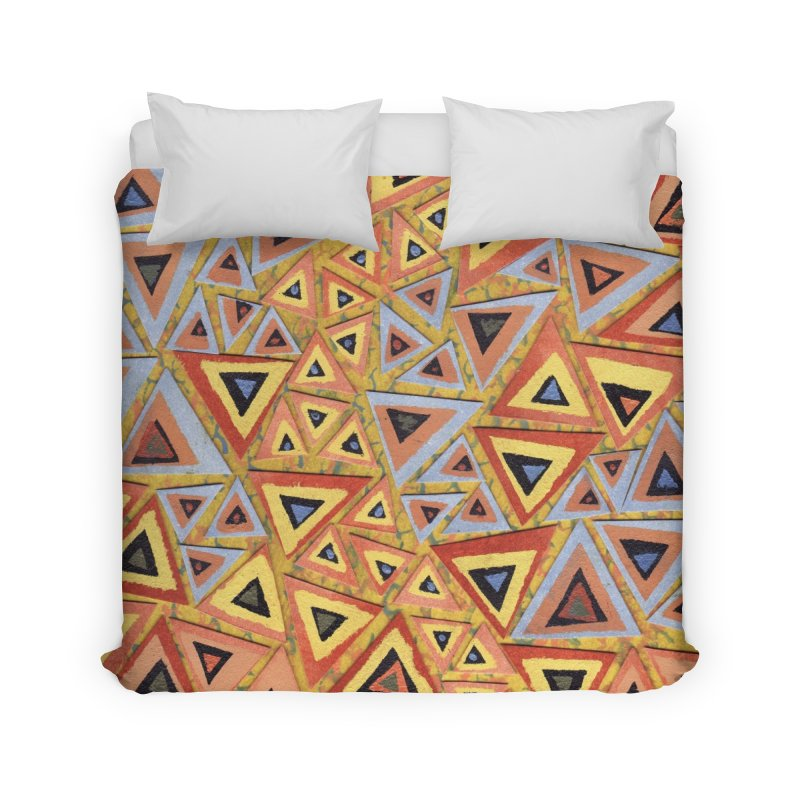 Translating New Perspective Home Duvet by jon cooney's print shop