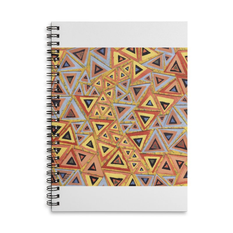 Translating New Perspective Accessories Lined Spiral Notebook by jon cooney's print shop