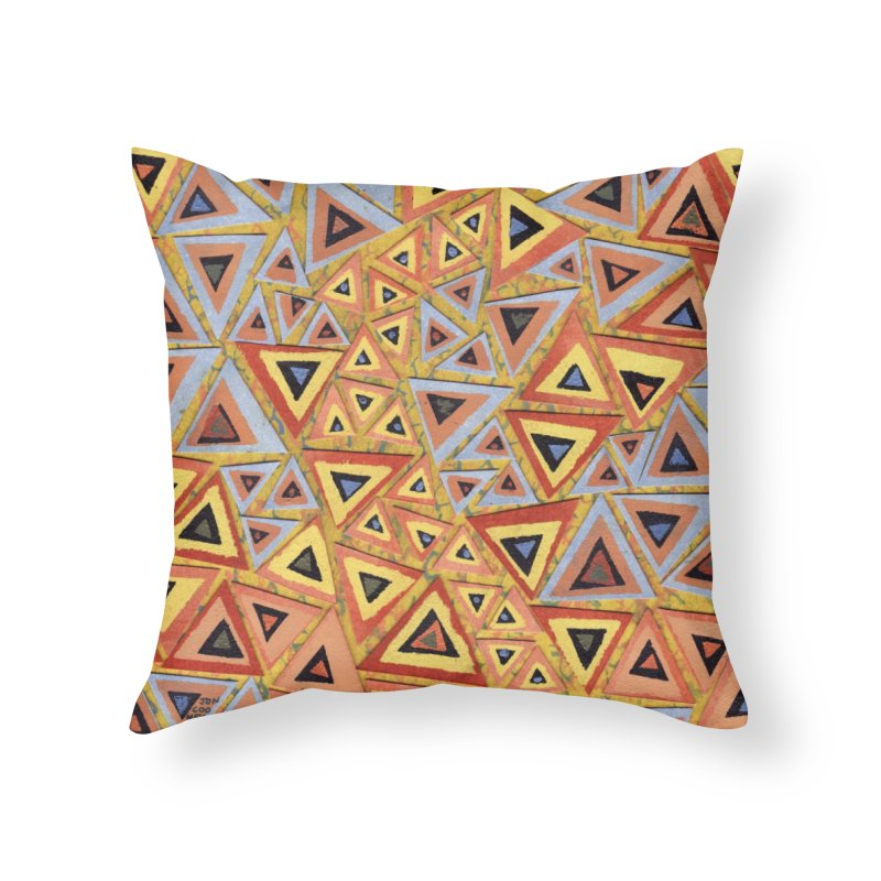 Translating New Perspective Home Throw Pillow by jon cooney's print shop
