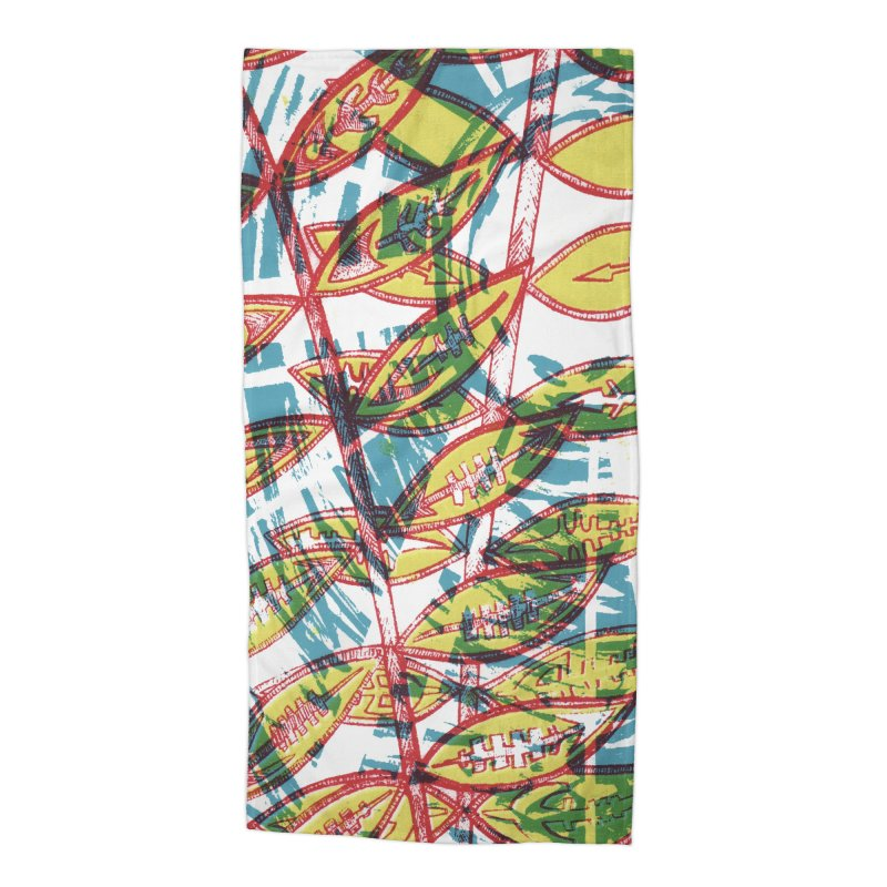 Transcend Accessories Beach Towel by jon cooney's print shop