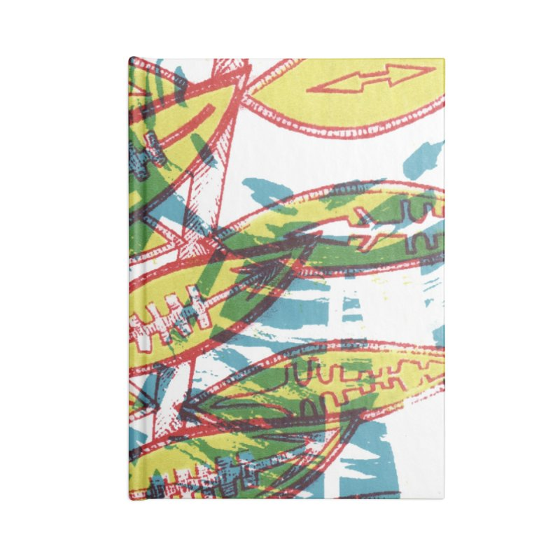 Transcend Accessories Lined Journal Notebook by jon cooney's print shop