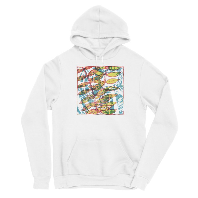 Transcend Men's Sponge Fleece Pullover Hoody by jon cooney's print shop