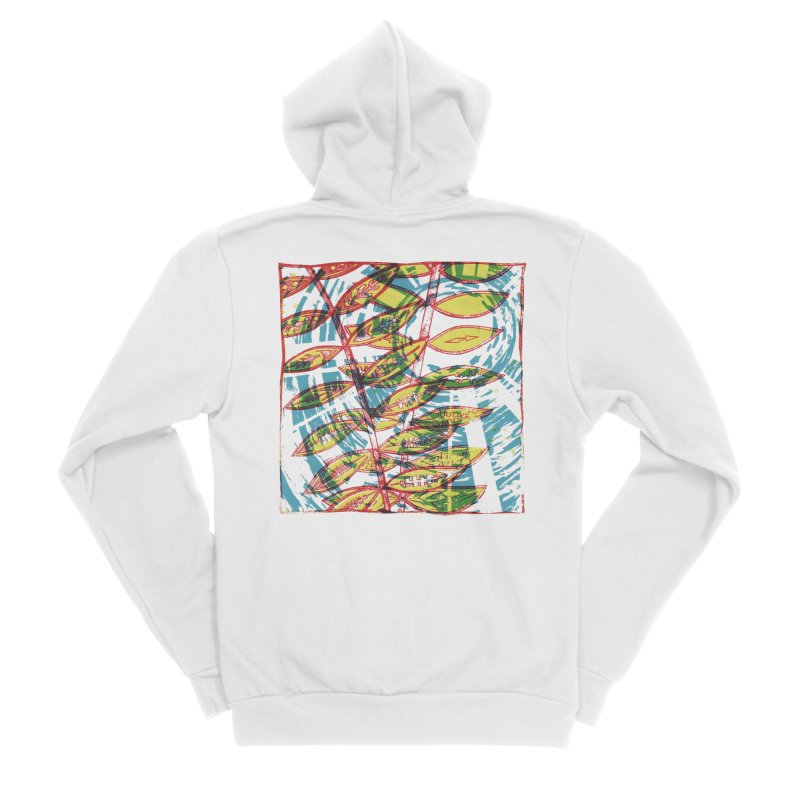 Transcend Women's Sponge Fleece Zip-Up Hoody by jon cooney's print shop