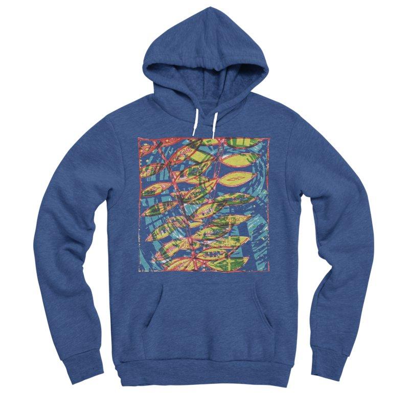 Transcend Men's Sponge Fleece Pullover Hoody by jon cooney's print shop