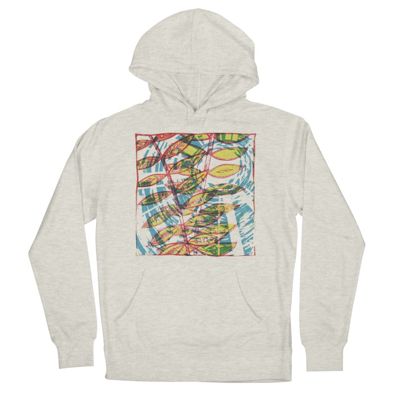 Transcend Men's French Terry Pullover Hoody by jon cooney's print shop