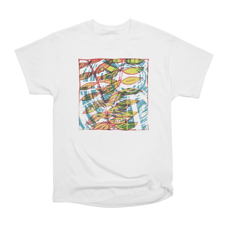 Transcend Men's Heavyweight T-Shirt by jon cooney's print shop