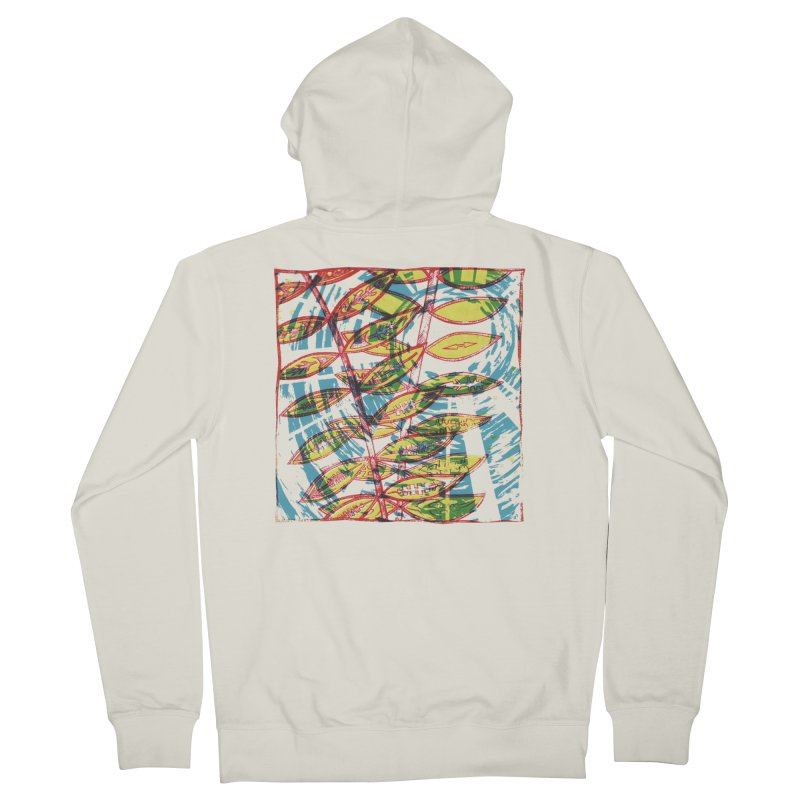 Transcend Men's French Terry Zip-Up Hoody by jon cooney's print shop