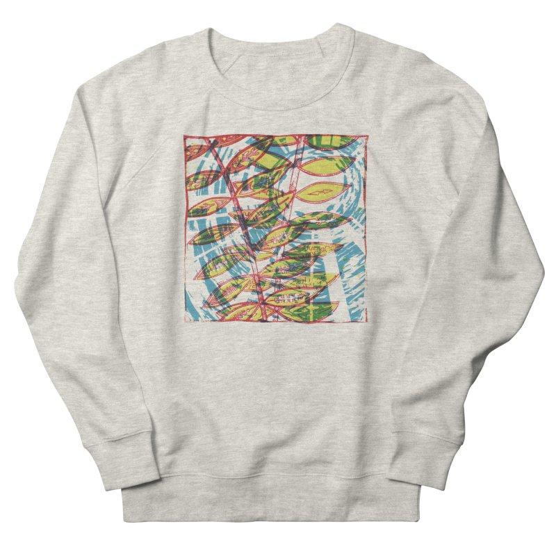 Transcend Men's French Terry Sweatshirt by jon cooney's print shop