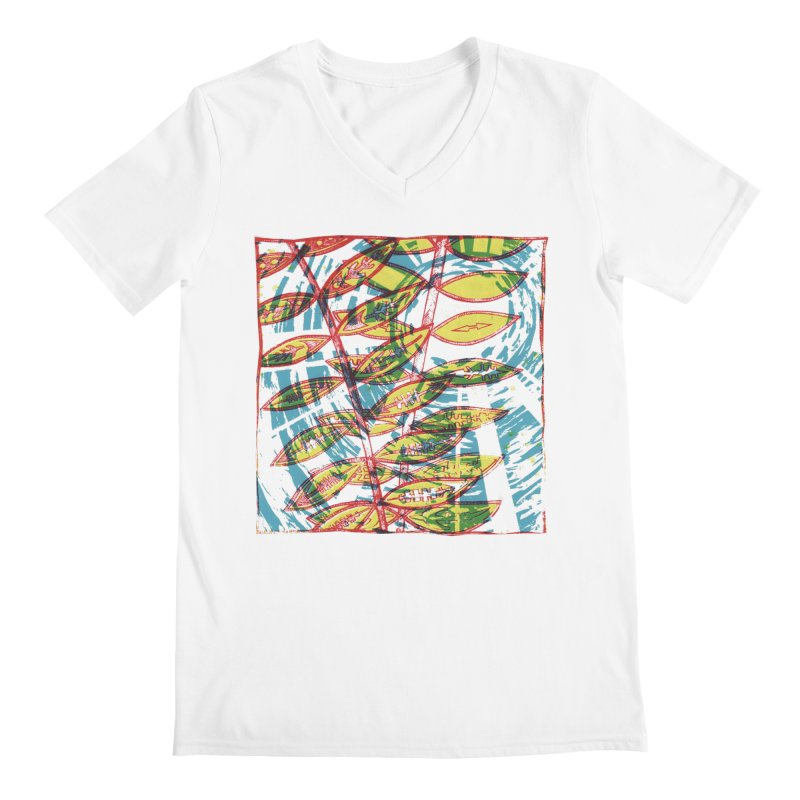 Transcend Men's V-Neck by jon cooney's print shop