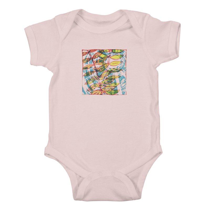 Transcend Kids Baby Bodysuit by jon cooney's print shop