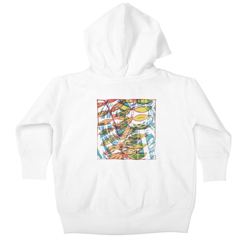 Transcend Kids Baby Zip-Up Hoody by jon cooney's print shop