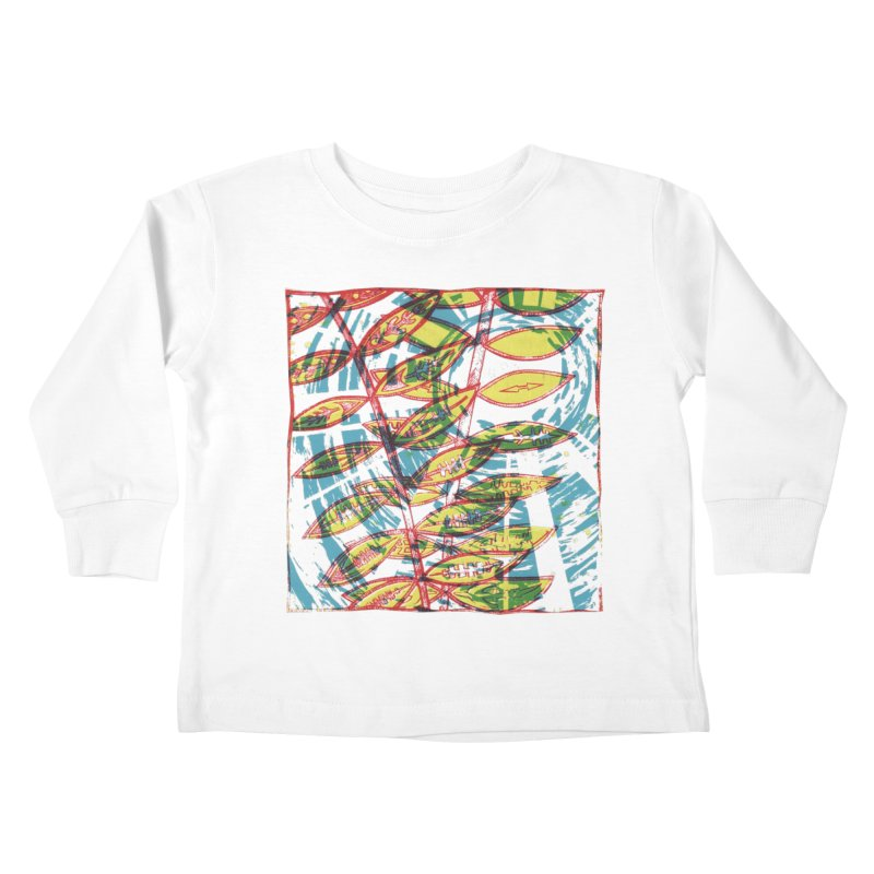Transcend Kids Toddler Longsleeve T-Shirt by jon cooney's print shop