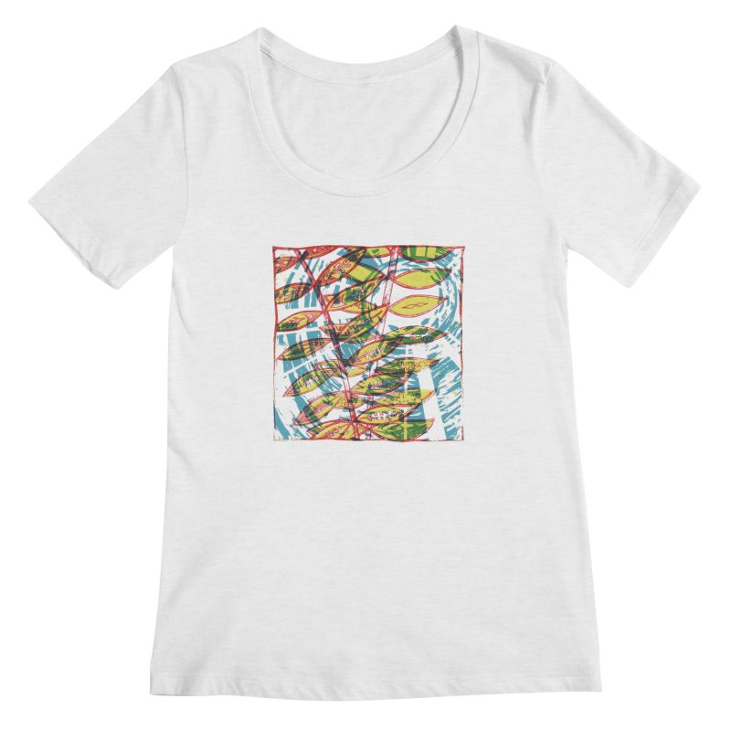 Transcend Women's Regular Scoop Neck by jon cooney's print shop