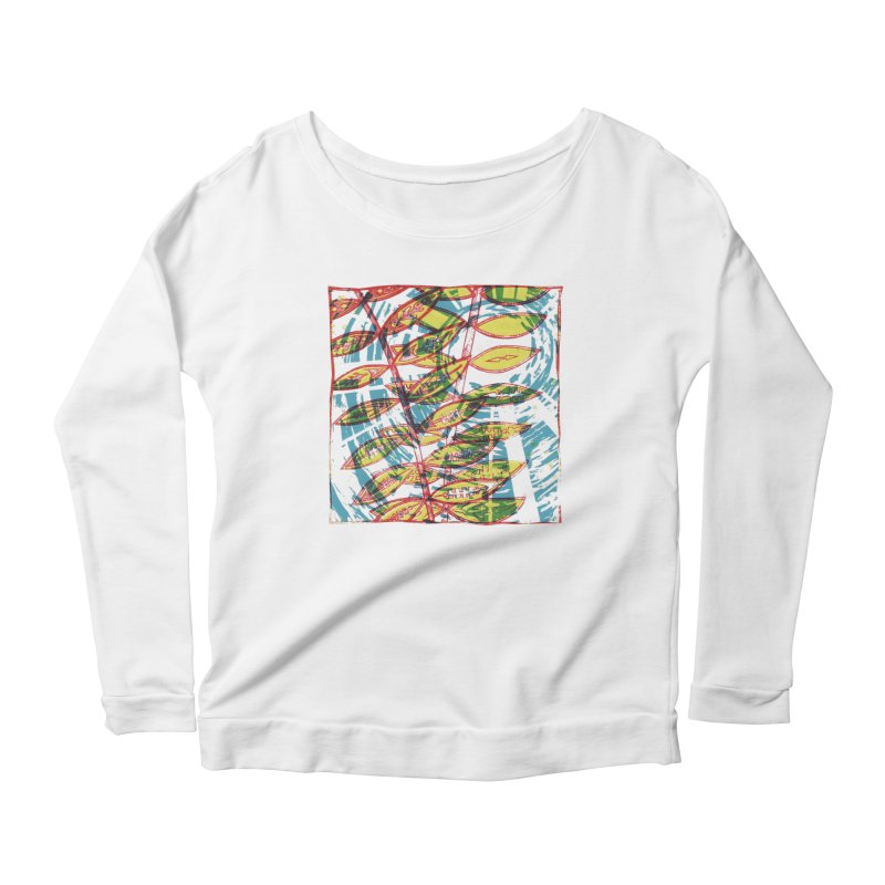 Transcend Women's Scoop Neck Longsleeve T-Shirt by jon cooney's print shop