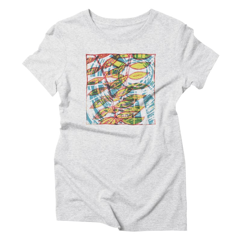Transcend Women's Triblend T-Shirt by jon cooney's print shop