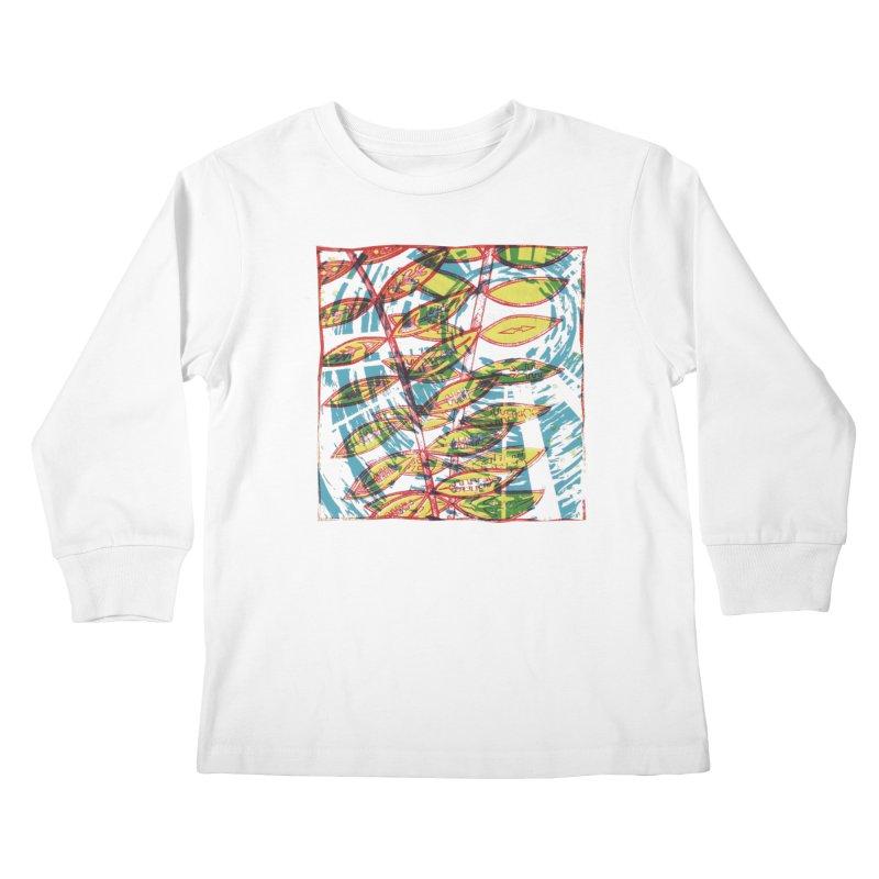 Transcend Kids Longsleeve T-Shirt by jon cooney's print shop
