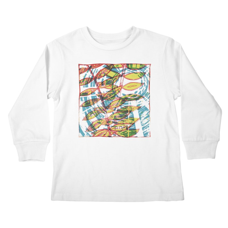 Transcend Kids Longsleeve T-Shirt by jon cooney's print shop