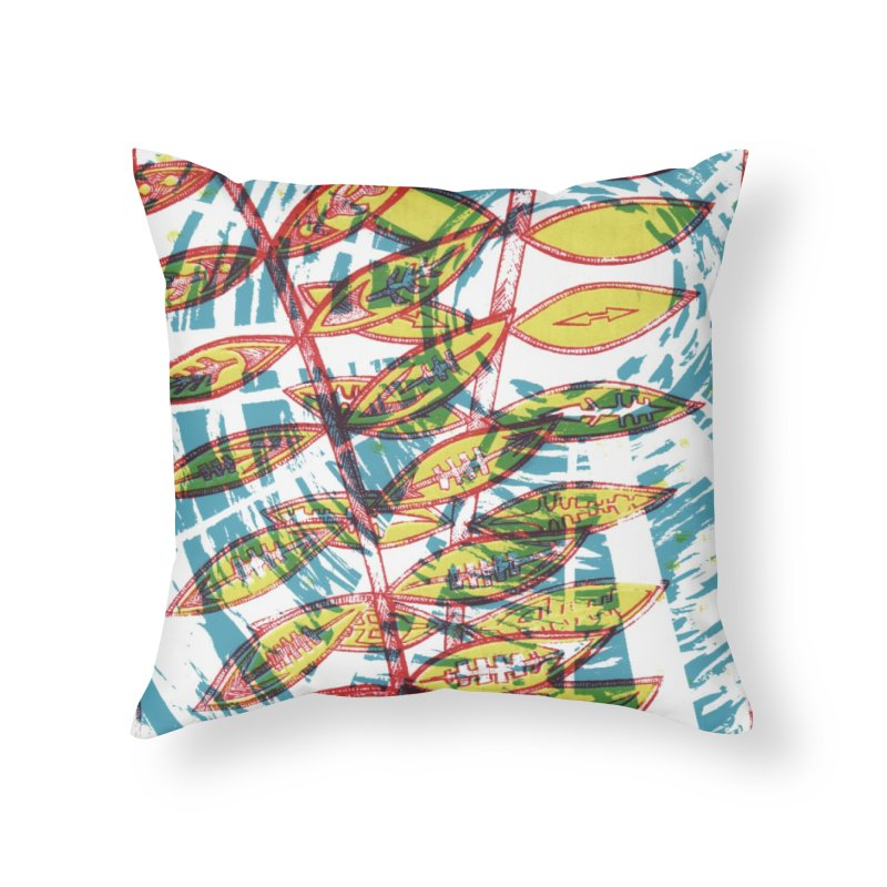 Transcend Home Throw Pillow by jon cooney's print shop