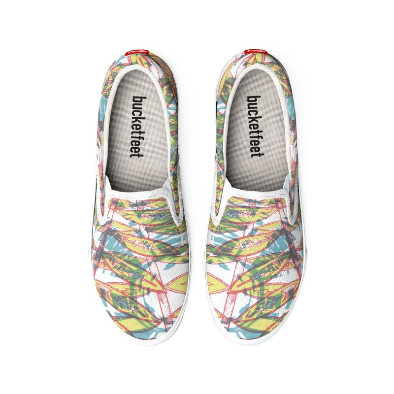 Transcend Women's Shoes by jon cooney's print shop