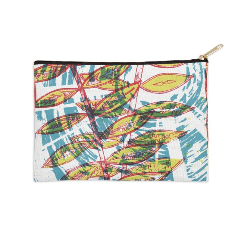 Transcend Accessories Zip Pouch by jon cooney's print shop