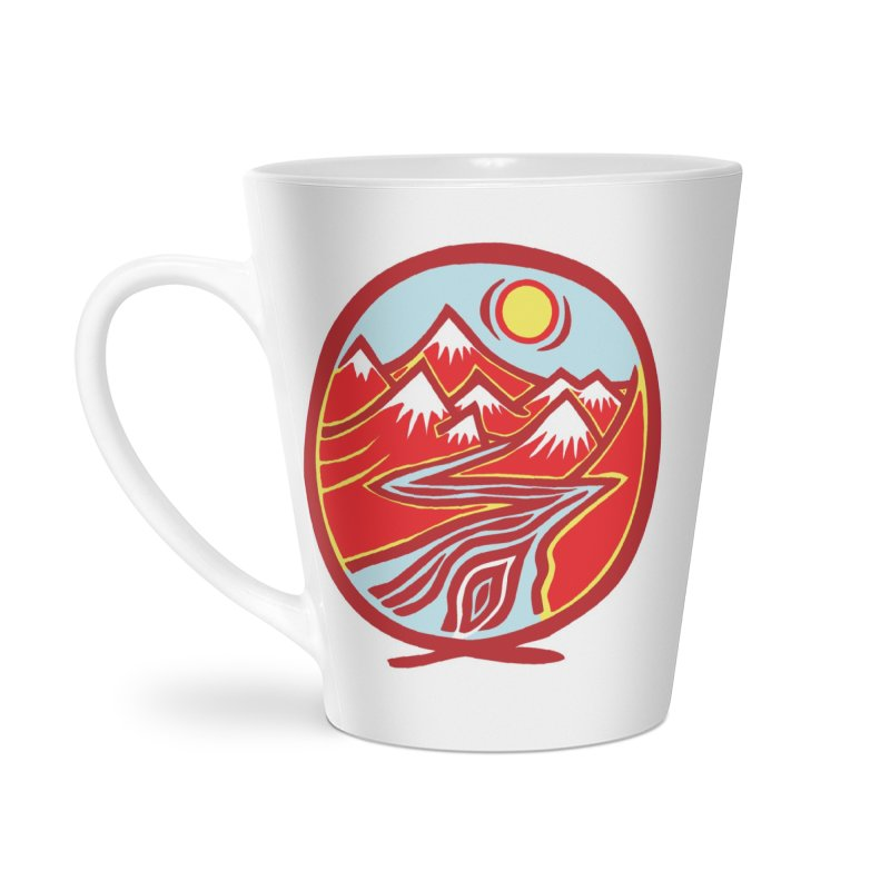 Natural Calming Multi Color Accessories Mug by jon cooney's print shop
