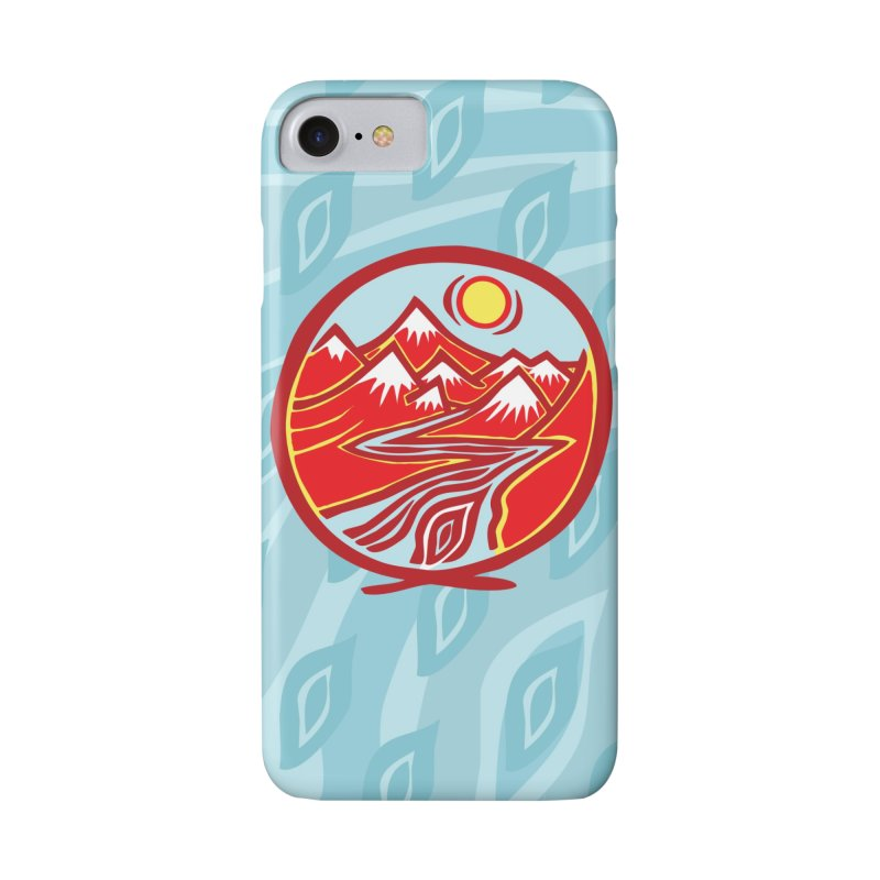 Natural Calming Multi Color Accessories Phone Case by jon cooney's print shop