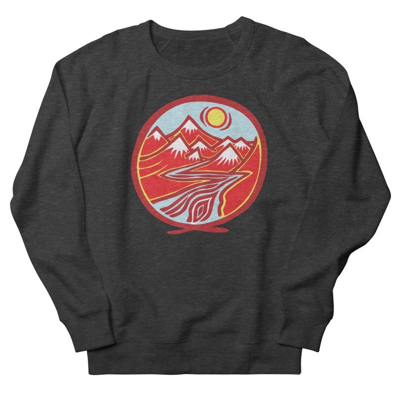 Natural Calming Multi Color Women's Sweatshirt by jon cooney's print shop