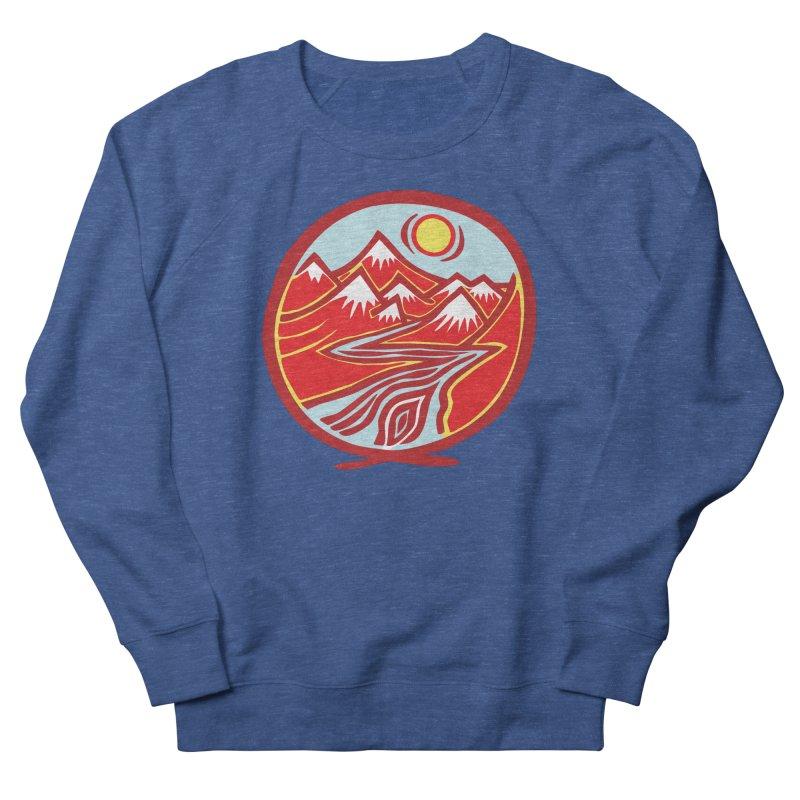 Natural Calming Multi Color Men's Sweatshirt by jon cooney's print shop