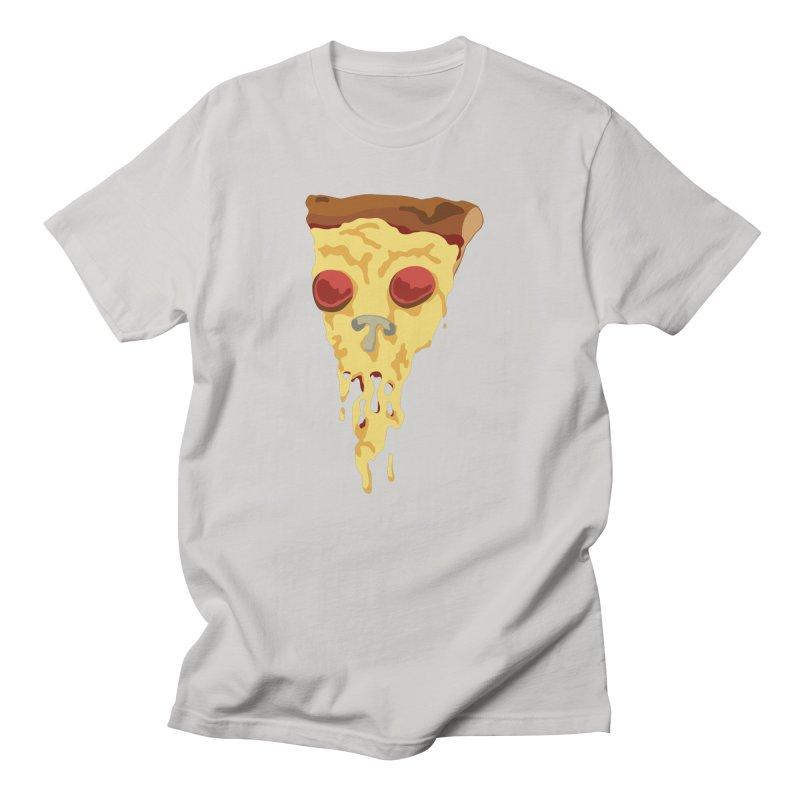 Pizza Skull Men's T-Shirt by Jon Gerlach's Artist Shop