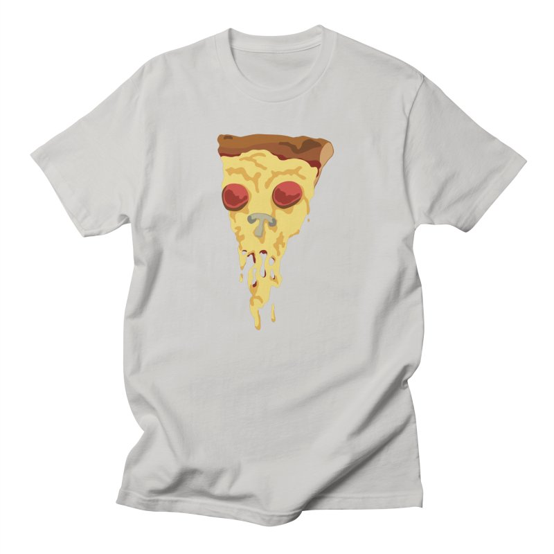 Pizza Skull Men's T-Shirt by Jon Gerlach's Artist Shop
