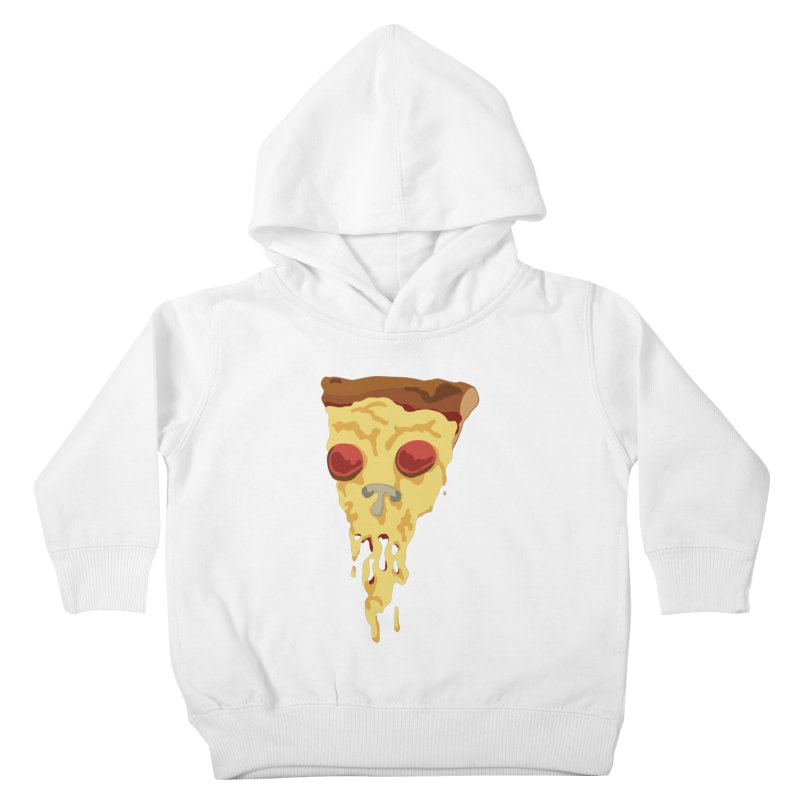 Pizza Skull Kids Toddler Pullover Hoody by Jon Gerlach's Artist Shop