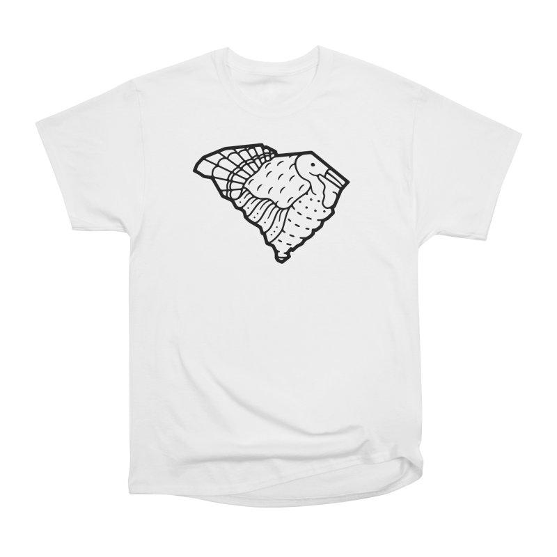Wild Turkeys Abound Women's Heavyweight Unisex T-Shirt by Jon Gerlach's Artist Shop