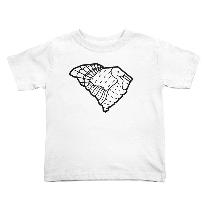 Wild Turkeys Abound Kids Toddler T-Shirt by Jon Gerlach's Artist Shop