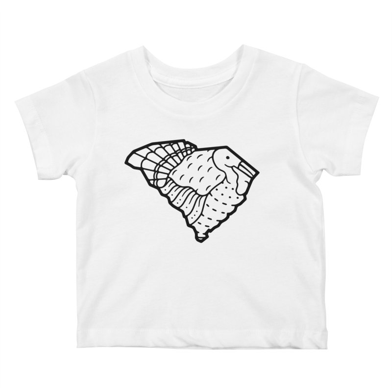 Wild Turkeys Abound Kids Baby T-Shirt by Jon Gerlach's Artist Shop