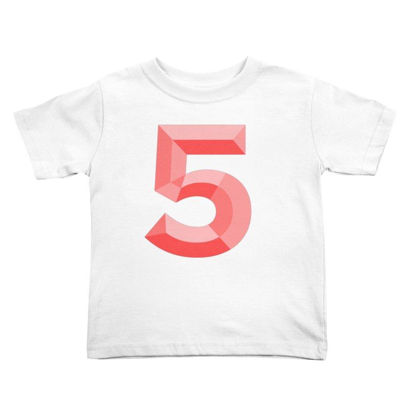 Gimme 5! Kids Toddler T-Shirt by Jon Gerlach's Artist Shop