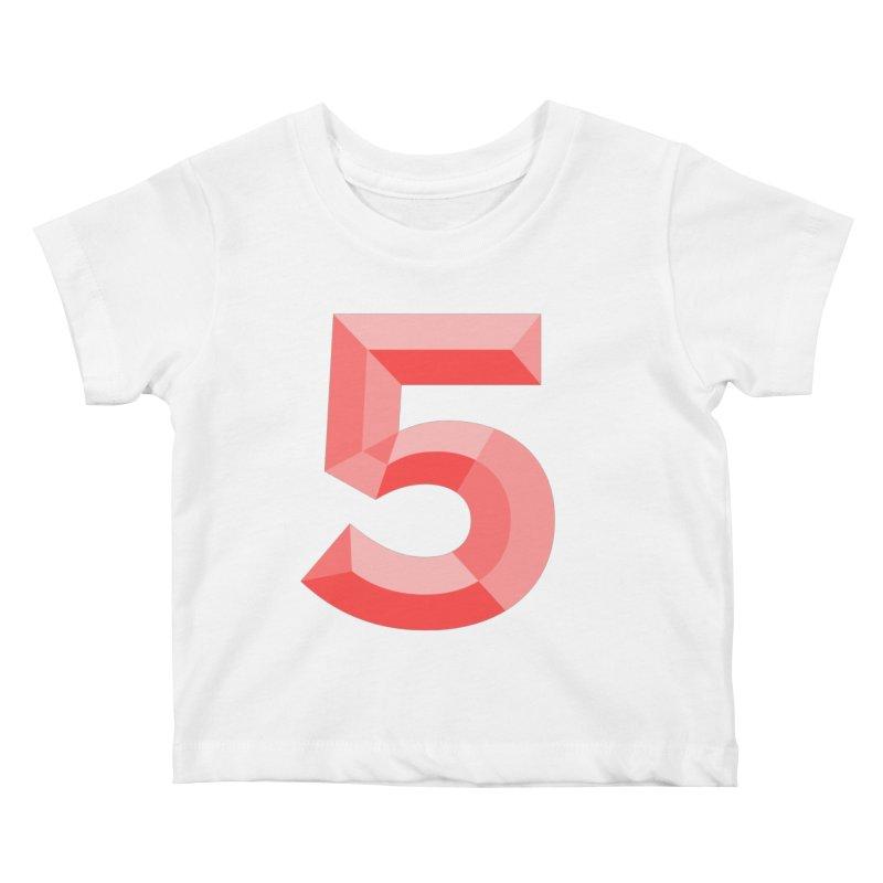 Gimme 5! Kids Baby T-Shirt by Jon Gerlach's Artist Shop