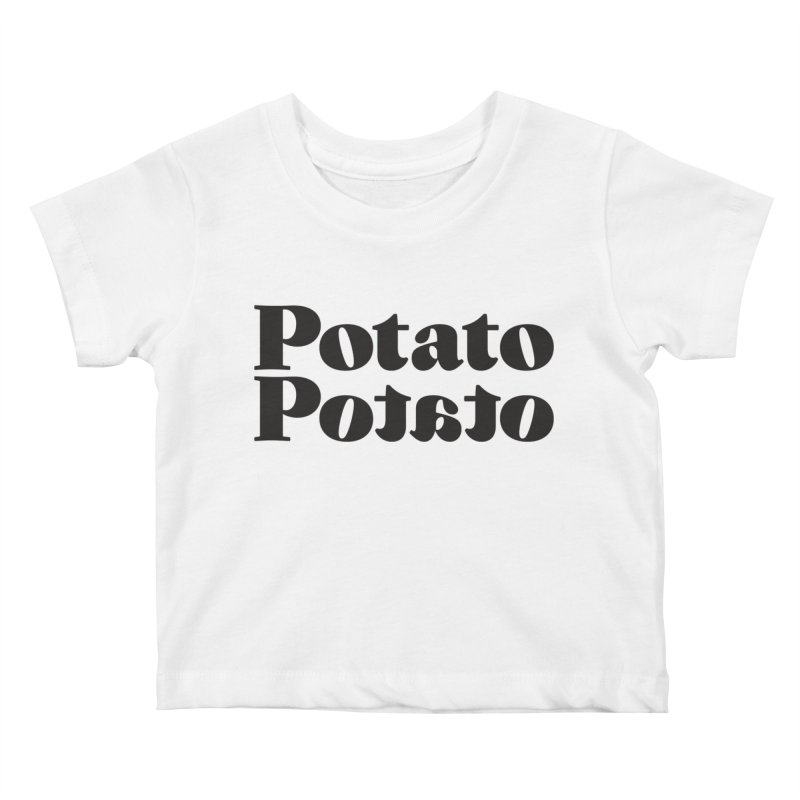 Let's Call the Whole Thing Off! Kids Baby T-Shirt by Jon Gerlach's Artist Shop