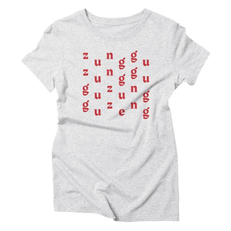 Yellowman nuh bwoy Women's Triblend T-Shirt by Jon Gerlach's Artist Shop