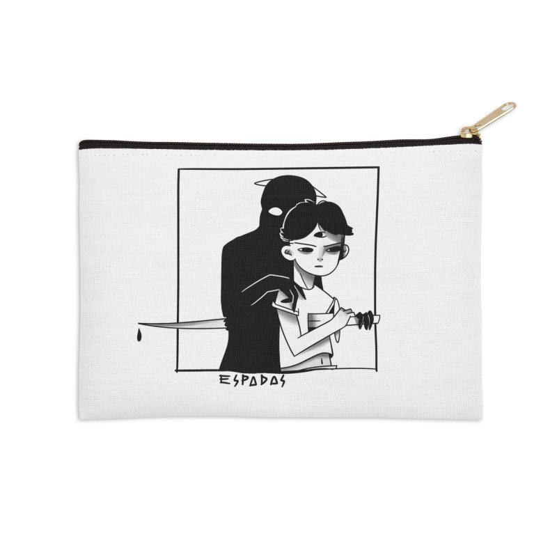 Espadas Accessories Zip Pouch by JoniWaffle's Artist Shop