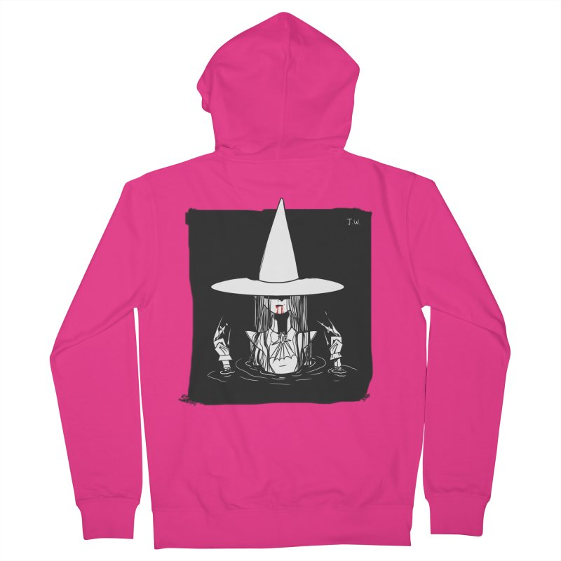Witch Men's Zip-Up Hoody by JoniWaffle's Artist Shop