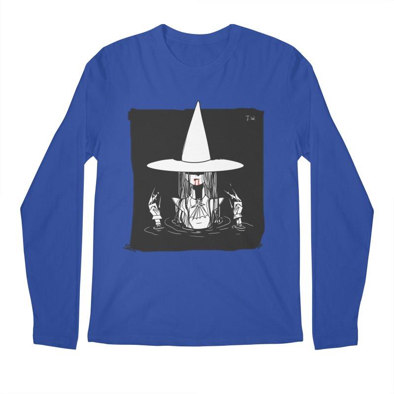 Witch Men's Longsleeve T-Shirt by JoniWaffle's Artist Shop