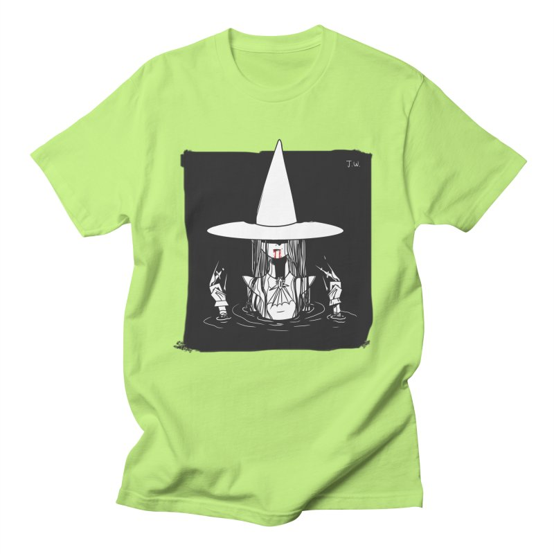 Witch Men's T-shirt by JoniWaffle's Artist Shop