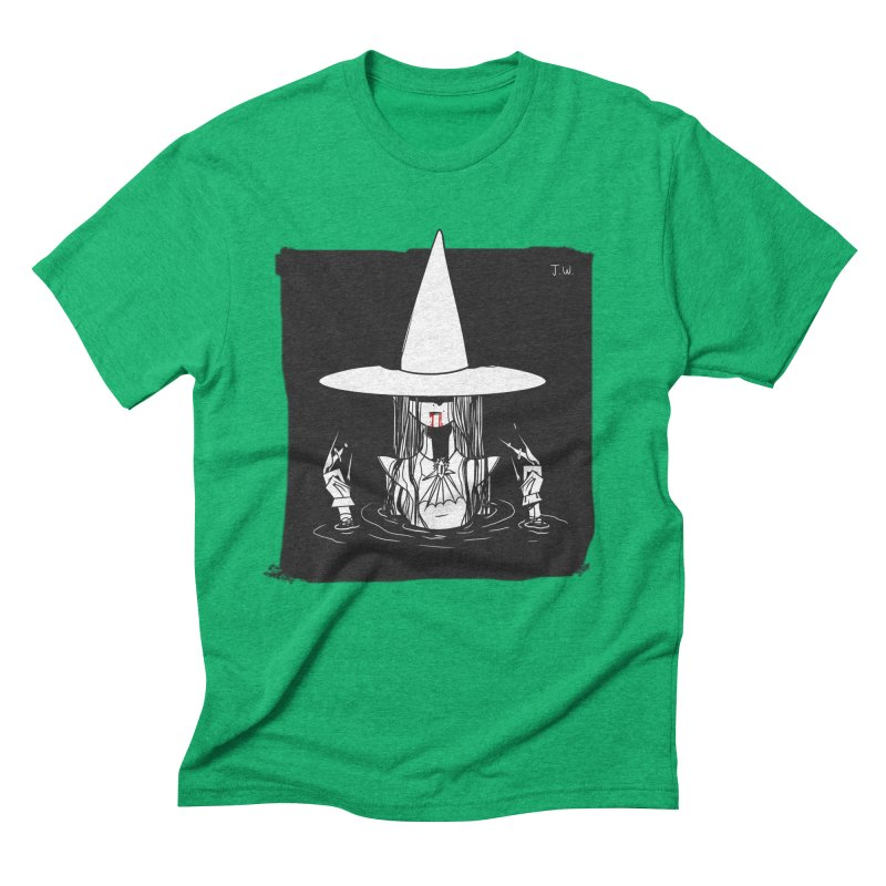 Witch Men's Triblend T-shirt by JoniWaffle's Artist Shop